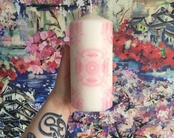 Pink Lily Mandala