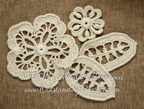 Free Irish Crochet Leaf Pattern Dancox For