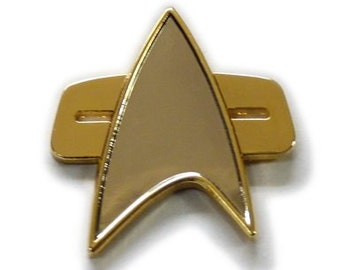 Star Trek Series Half size Voyager Communicator Pin