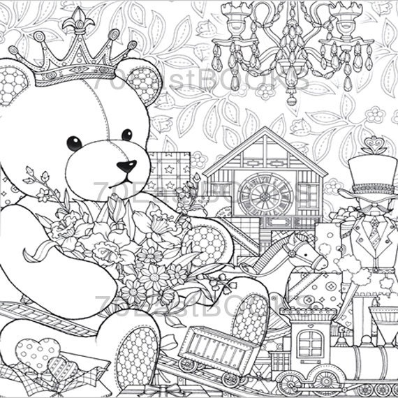 Coloring Book All Night Coloring Page