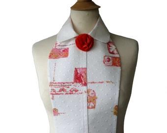 Bib collar blouse Sarah