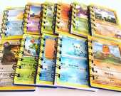 25 Upcycled Pokemon Cards - Pokemon Party Favors - Pokemon Favor - Pokemon Birthday Party - Pokemon