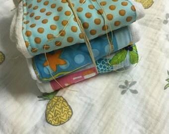Baby burp cloth / cloth diaper