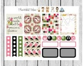 Weekly sticker set - Remain a  Classic - planner stickers