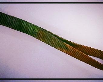 Colorful Nylon Key Chain / Fob / Lanyard