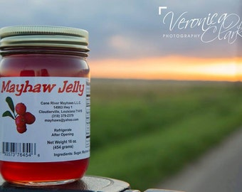 4 Jars Mayhaw Jelly