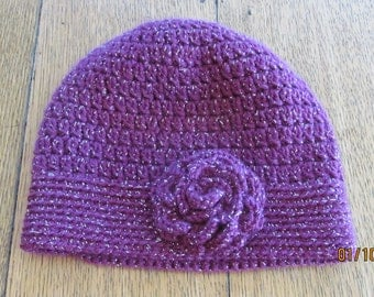 Women's Crocheted Hat