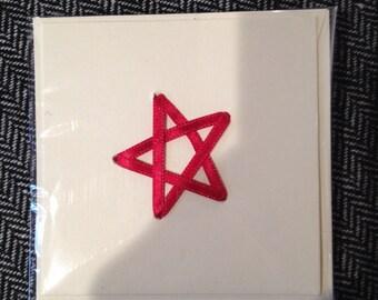 Ribbon star cards
