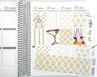Girls Night Out (Party) BIG KIT! Perfect For The Erin Condren Life Planner!