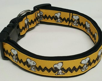 Snoopy, Dog Collar, Peanuts, Woodstock