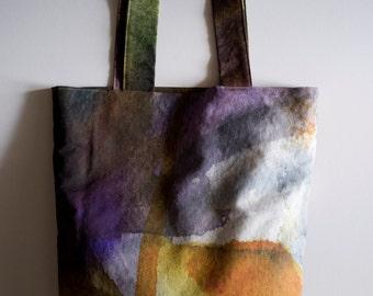 "Bag ""BLUMEN"" Purple/yellow-Bag ""BLUMEN"" purple/jellow"