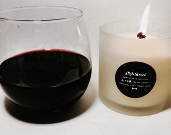 8 oz London Inspired,  Luxury, Fragrant, Vibrant with Bergamot, Ylang, Ylang, Jasmine and Rich Greens - High Street
