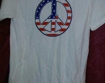 peace symbol hippie shirt