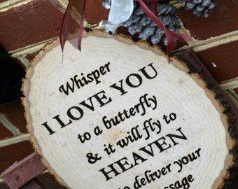 Custom, Wood Burned Quote Sign