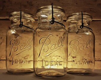Ball Ideal Mason Jars (Set of 3)