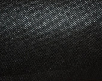 10mtr x 91cm black Liner Coravin Upholstery Soft Fabric Material