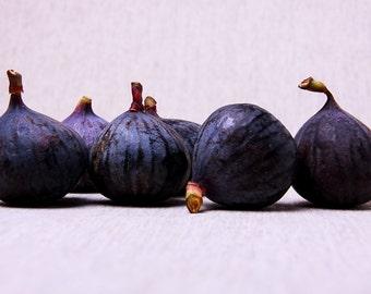Purple Figs Print Kitchen Art