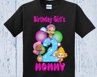 Bubble Guppies Birthday Mom Shirt