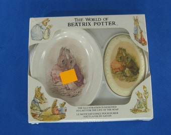 The World of Beatrix Potter - Pictorial Soap & Ceramic Dish