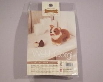 Hamanaka - Needle Wool Felt Welsh Corgi DIY Kit