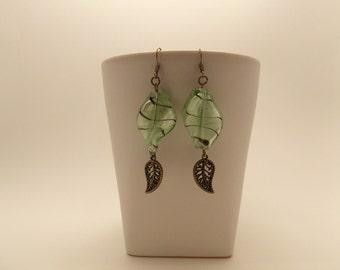 Twisted Pearl Earrings