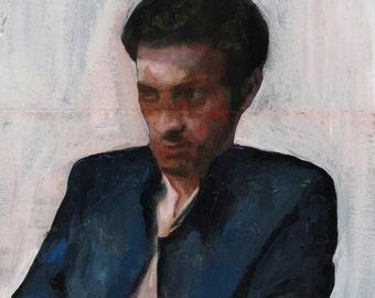 """""""Amedeo Modigliani, sei pazzo?"""" - Original artwork"""