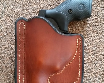 brown pocket holster S&W J-frame