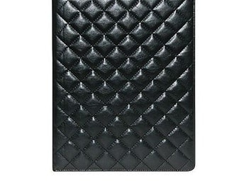 Black Leather Business/School Writing Pad