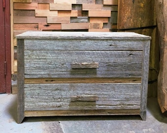 Reclaimed Wood 3-Drawer/2-Drawer Dresser