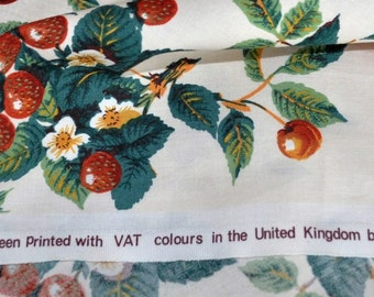Anne and Robert Swaffer 'Eden' Fabric Furnishing weight cotton 12 metres total length ***Price per Metre***