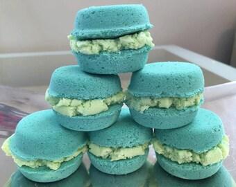 Kellie Green Macaron Bath Bomb-Bubble Bar