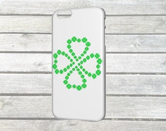 "Cover of ""Lucky clover"" for iPhone 6 / 6 s plus"