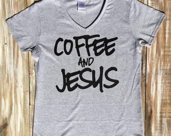 Coffee and Jesus Shirt
