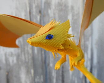 Yellow Paper Dragon