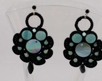 Soutache earrings