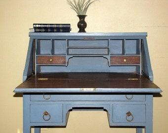 Paris - vintage secretary writing desk