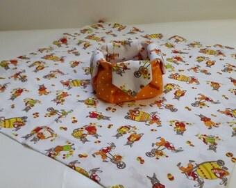 Easter basket blanket