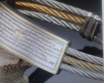 Lords prayer bracelet.