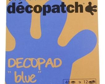 Decopatch Decopad Colour Block Pads Blue