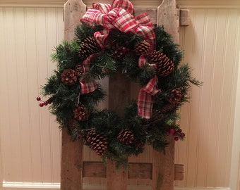 Picket Fence Christmas Decor