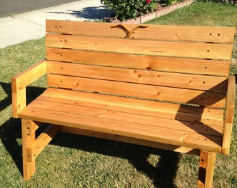 Garden or Front Porch Sitting Bench