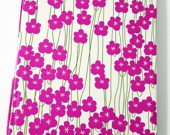 Purple Flowers Sketchbook - Hand Bound Sketchbook - Handmade