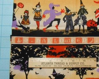 Halloween Costumes Cotton Fabric Fat Quarter 18 X 22