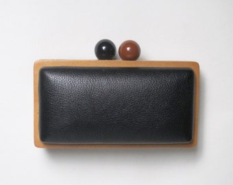 Clutch (with shoulder strap)