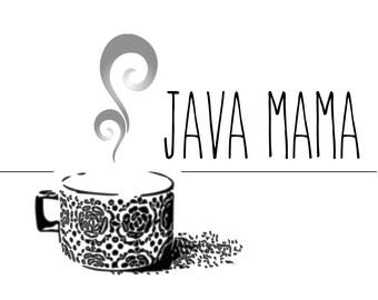 Premade Logo Design Coffee Shop Design
