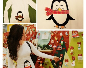 Christmas Penguin shirt. The Perfect gift for this season.