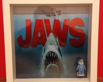 LEGO Jaws Minifigure Frame