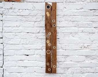 Abstract barnwood wall decor, Barnwood wall art, Reclaimed wood wall art, Reclaimed wood art sculpture, Reclaimed wood wall decor