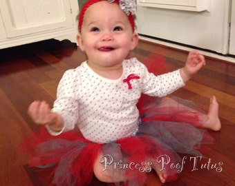 Little Poof Multicolor Baby Tutu - Any Colors Available