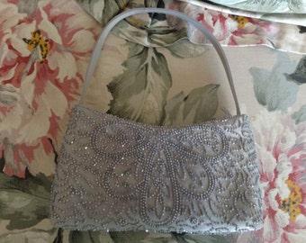 Vintage beaded evening purse
